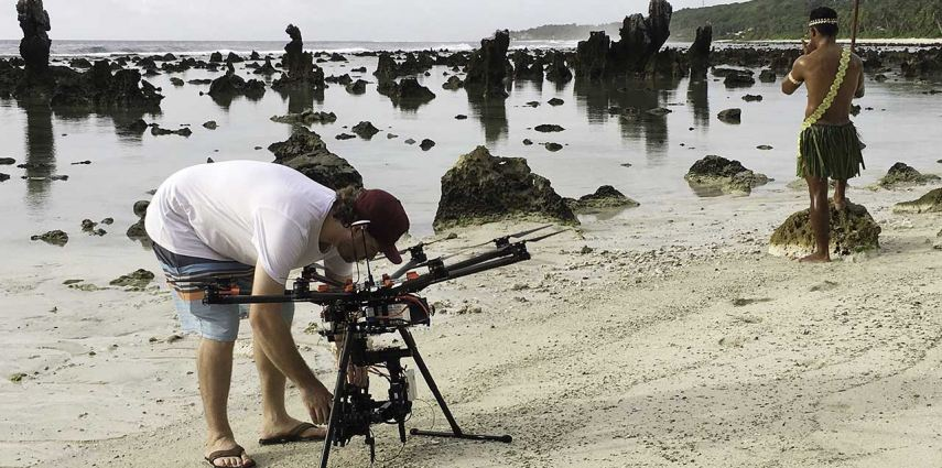 Tourism Drone Cinematography BTS