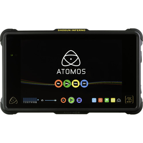 Atomos Shogun Inferno 4K monitor and recorder.