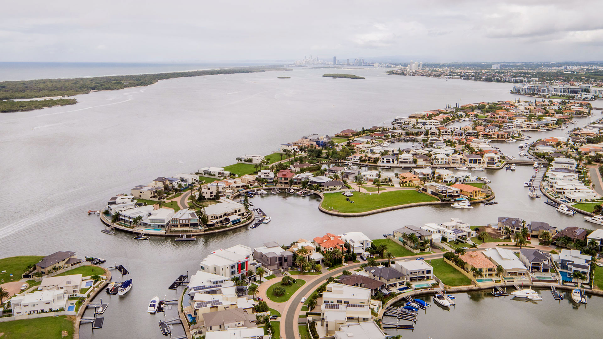 Aerial drone photography for high end property sales.